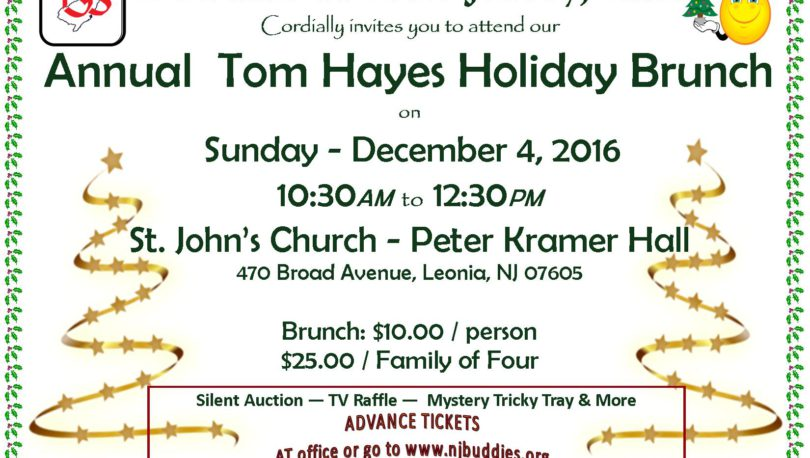 2016 Holiday Brunch Flyer